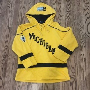 Michigan Wolverines Hockey Sweatshirt